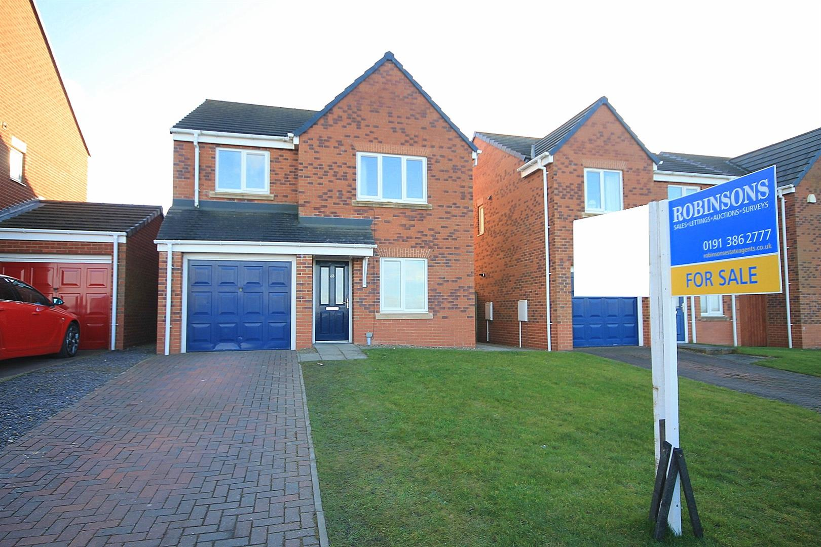 4 Bedrooms Detached House for sale in Henry Avenue, Bowburn, Durham